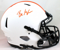 Baker Mayfield Signed Browns Full-Size Authentic On-Field Lunar Eclipse Alternate Speed Helmet (Beckett Hologram) at PristineAuction.com