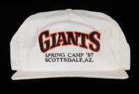 Willie McCovey Signed Giants Adjustable Hat (JSA COA) (See Description) at PristineAuction.com
