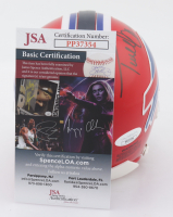 Terrell Owens Signed Bills Mini-Helmet with Display Case (JSA COA) at PristineAuction.com