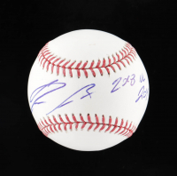 "Ronald Acuna Jr. Signed OML Baseball Inscribed ""2018 NL ROY"" (Beckett COA) at PristineAuction.com"