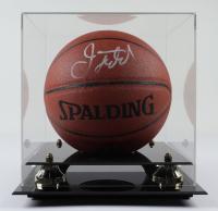 Jason Kidd Signed NBA Basketball with Display Case (JSA COA) at PristineAuction.com