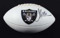 Marcus Allen Signed Raiders Logo Football (Beckett COA) (See Description) at PristineAuction.com