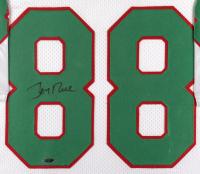 Jerry Rice Signed 34x42 Custom Framed Jersey (Tristar Hologram) at PristineAuction.com