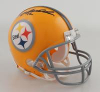 Terry Bradshaw Signed Steelers Mini Helmet (Beckett COA) at PristineAuction.com