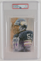 Jeff Siemon Signed Vikings 4x6 Photo (PSA Encapsulated) at PristineAuction.com