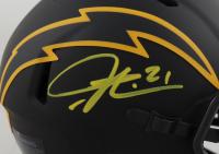 LaDainian Tomlinson Signed Chargers Eclipse Alternate Speed Mini Helmet (Beckett Hologram & Tomlinson Hologram) at PristineAuction.com