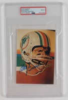 Bob Griese Signed Dolphins 4x6 Photo (PSA Encapsulated) (See Description) at PristineAuction.com