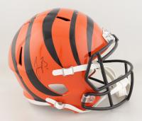 Joe Burrow Signed Bengals Full-Size Speed Helmet (Fanatics Hologram) at PristineAuction.com
