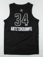 Giannis Antetokounmpo Signed All-Star Jersey (PSA COA) at PristineAuction.com