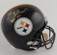 """John Stallworth Signed Steelers Full-Size Helmet Inscribed """"HOF 02"""" (TriStar Hologram) (See Description) at PristineAuction.com"""