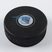 Artemi Panarin Signed Rangers Logo Hockey Puck (PSA COA) at PristineAuction.com