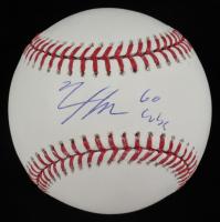 """Nico Hoerner Signed OML Baseball Inscribed """"Go Cubs"""" (PSA COA) at PristineAuction.com"""