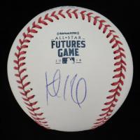 Keibert Ruiz Signed OML Baseball (PSA COA) at PristineAuction.com