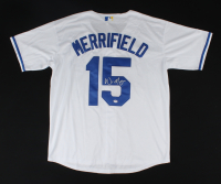 Whit Merrifield Signed Royals Jersey (PSA COA) at PristineAuction.com
