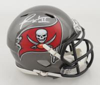 Ronald Jones Signed Buccaneers Speed Mini Helmet (Fanatics Hologram) at PristineAuction.com