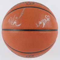 Damian Lillard & CJ McCollum Signed Game Ball Series Basketball (PSA Hologram) (See Description) at PristineAuction.com
