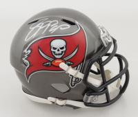 Jason Pierre-Paul Signed Buccaneers Speed Mini Helmet (Fanatics Hologram) at PristineAuction.com