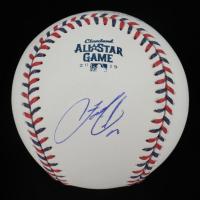 Francisco Lindor Signed 2019 All-Star Game Baseball (PSA COA) at PristineAuction.com