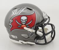 Ke'Shawn Vaughn Signed Buccaneers Speed Mini Helmet (Fanatics Hologram) at PristineAuction.com