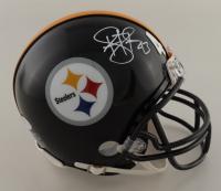 Troy Polamalu Signed Steelers Super Bowl XL Champions Mini-Helmet (Beckett COA) at PristineAuction.com