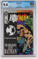 "1993 ""Batman"" Issue #497 DC Comic Book (CGC 9.4) at PristineAuction.com"