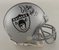 "Warren Sapp Signed Raiders Mini-Helmet Inscribed ""HOF '13"" (Beckett Hologram) at PristineAuction.com"