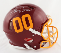 """Joe Theismann Signed Redskins Full-Size Authentic On-Field Speed Helmet Inscribed """"83 NFL-MVP"""" (Beckett COA) at PristineAuction.com"""