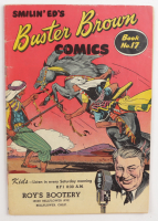 """Smilin Ed's """"Buster Brown"""" Issue #17 Comic Book (See Description) at PristineAuction.com"""