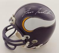 Fran Tarkenton Signed Vikings Mini Helmet (JSA COA) at PristineAuction.com
