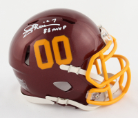"Joe Theismann Signed Redskins Speed Mini Helmet Inscribed ""83 MVP"" (Beckett COA) at PristineAuction.com"