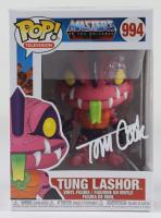 "Tom Cook Signed ""Master Of The Universe"" #994 Tung Lashor Funko Pop! Vinyl Figure (Beckett COA) (See Description) at PristineAuction.com"