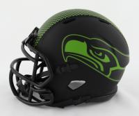 DK Metcalf Signed Seahawks Eclipse Alternate Speed Mini Helmet (Beckett COA) at PristineAuction.com