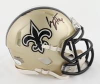 Cameron Jordan Signed Saints Speed Mini Helmet (JSA COA) at PristineAuction.com