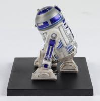 "Set of (3) Kotobukiya Painted ""Star Wars"" C-3PO, R2-D2, & BB-8 Figures With Display Stand at PristineAuction.com"