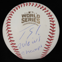 """Jorge Soler Signed 2016 World Series Game Baseball Inscribed """"2016 WS Champs"""" (PSA COA) at PristineAuction.com"""