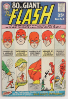 """1964 80 Pg Giant """"The Flash"""" Issue #4 DC Comic Book (See Description) at PristineAuction.com"""