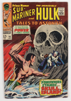 """1967 """"Tales to Astonish"""" Issue #96 Marvel Comic Book (See Description) at PristineAuction.com"""