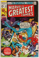"""1970 """"Marvel's Greatest Comics"""" Issue #28 Marvel Comic Book (See Description) at PristineAuction.com"""