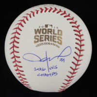"Jason Hammel Signed 2016 World Series Baseball Inscribed ""2016 WS Champs"" (PSA COA) at PristineAuction.com"
