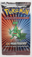 Pokemon EX Ruby & Sapphire (Spanish) Booster Pack with (5) Cards at PristineAuction.com