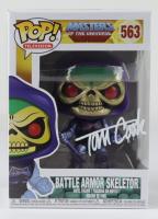 "Tom Cook Signed ""Master Of The Universe"" #563 Battle Armor Skeletor Funko Pop! Vinyl Figure (Beckett COA) (See Description) at PristineAuction.com"