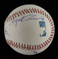 OML Baseball Signed by (6) with Ron Turcotte, Steve Cauthen, Jean Cruguet (JSA COA) at PristineAuction.com