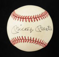 Mickey Mantle Signed OAL Baseball (Beckett LOA) at PristineAuction.com