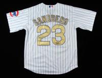 Ryne Sandberg Signed Cubs Jersey (JSA COA) at PristineAuction.com