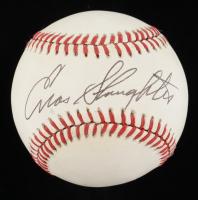 Enos Slaughter Signed ONL Baseball (JSA COA) at PristineAuction.com