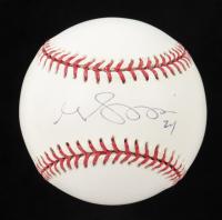 Grady Sizemore Signed OML Baseball (PSA COA) at PristineAuction.com
