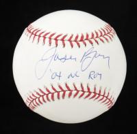 """Jason Bay Signed OML Baseball Inscribed """"'04 NL ROY"""" (TriStar Hologram & MLB Hologram) at PristineAuction.com"""