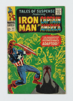 """Vintage 1966 """"Iron Man & Captain America"""" Issue #82 Marvel Comic Book (See Description) at PristineAuction.com"""