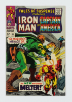 """Vintage 1967 """"Iron Man & Captain America"""" Issue #89 Marvel Comic Book (See Description) at PristineAuction.com"""
