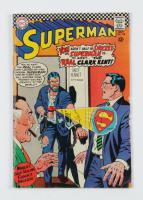 "Vintage 1967 ""Superman"" Issue #198 DC Comic Book (See Description) at PristineAuction.com"